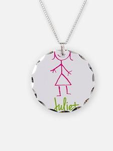 Juliet-cute-stick-girl.png Necklace