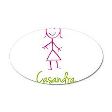 Casandra-cute-stick-girl.png Wall Decal