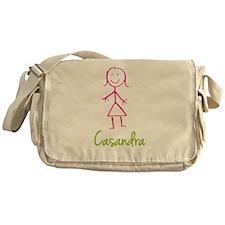 Casandra-cute-stick-girl.png Messenger Bag