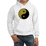 Old Gold and Black Hooded Sweatshirt