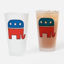 republican Drinking Glass