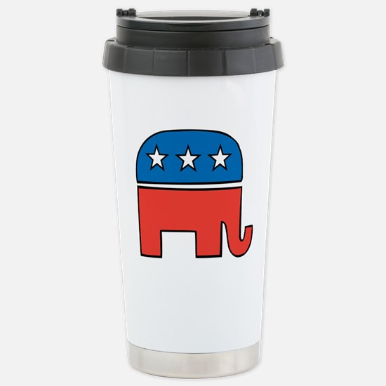 republican Stainless Steel Travel Mug