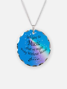 God Gave Us Music Necklace