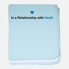 Heath Relationship baby blanket