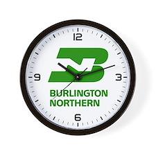 Cute Burlington northern Wall Clock
