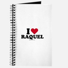 I love Raquel Journal