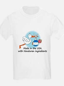 Stork Baby Honduras USA T-Shirt