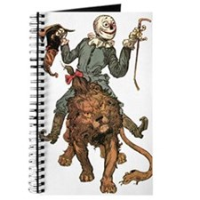 Oz Scarecrow and Lion Journal