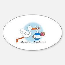 Stork Baby Honduras Decal