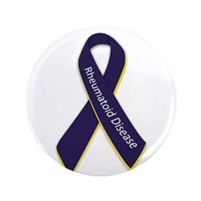 "Awareness Ribbon 3.5"" Button"