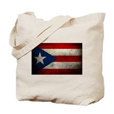 hard woking puerto rican flag Tote Bag