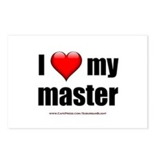 """""""Love My Master"""" Postcards (Package of 8)"""