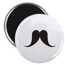 "Mustache 2.25"" Magnet (10 pack)"