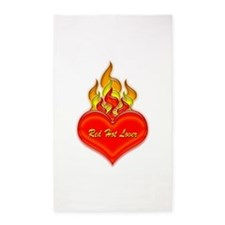 Red Hot Lover 3'x5' Area Rug