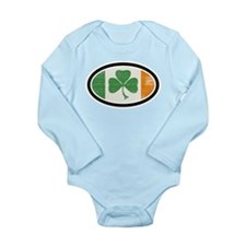 St Patrick's day Long Sleeve Infant Bodysuit