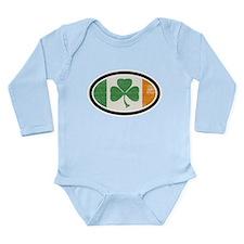 St Patrick's day Onesie Romper Suit
