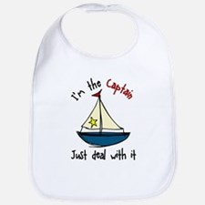 I'm The Captain Bib