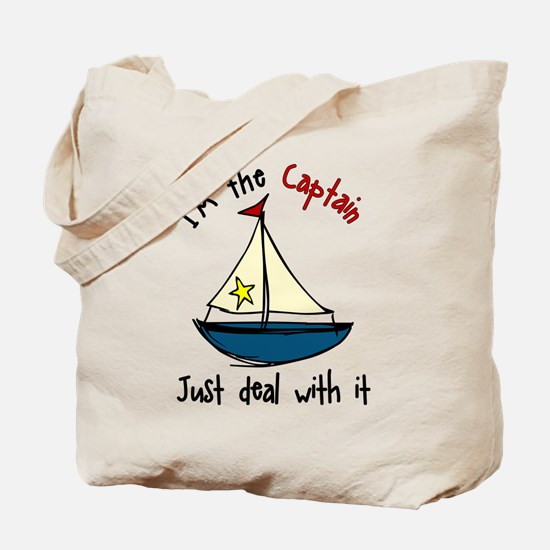 I'm The Captain Tote Bag
