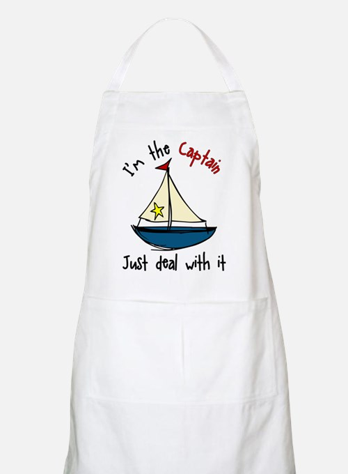 I'm The Captain Apron
