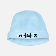 Mountain Biking baby hat