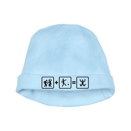 Kickball baby hat