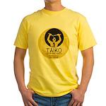 Taiko Drum and Dance Yellow T-Shirt