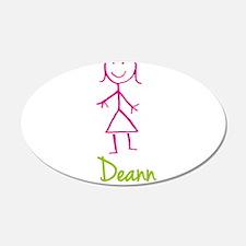 Deann-cute-stick-girl.png Wall Decal