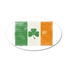 St Patrick's day flag Wall Decal