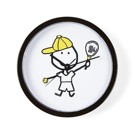 Boy & Tennis Wall Clock