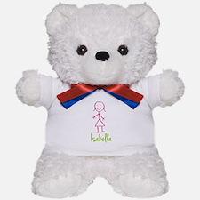 Isabella-cute-stick-girl.png Teddy Bear
