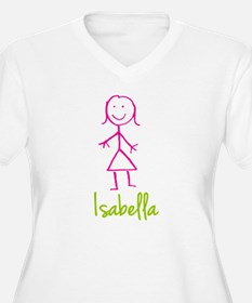 Isabella-cute-stick-girl.png T-Shirt