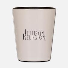 Jettison Religion Shot Glass