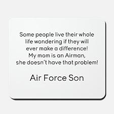 AF Son Mom No Prob Mousepad