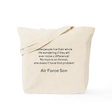 AF Son Mom No Prob Tote Bag