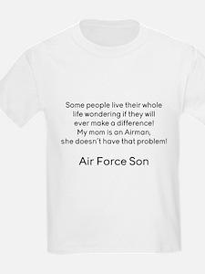 AF Son Mom No Prob T-Shirt
