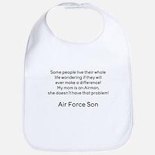 AF Son Mom No Prob Bib