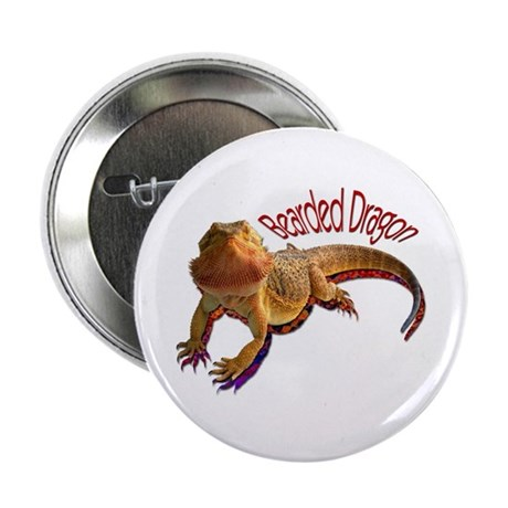 "Bearded Dragon III 2.25"" Button"