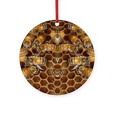 Honey Bees Ornament (Round)