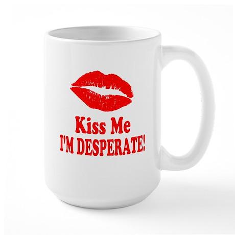 Kiss Me Large Mug