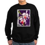 Vintage China Cattleya Orchid Stamp Sweatshirt (da