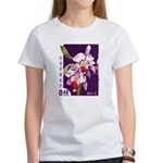 Vintage China Cattleya Orchid Stamp Women's T-Shir