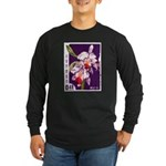 Vintage China Cattleya Orchid Stamp Long Sleeve Da