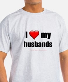 """Love My Husbands"" T-Shirt"