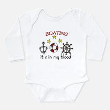 Boating Long Sleeve Infant Bodysuit