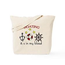 Boating Tote Bag