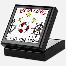 Boating Keepsake Box