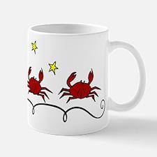Three Crabs Small Small Mug
