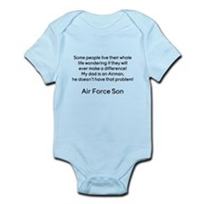 AF Son Dad No Prob Infant Bodysuit