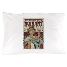 champagne ad Pillow Case