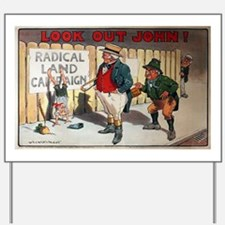 political ad Yard Sign